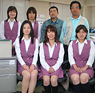 第一事業部・総務部スタッフです。